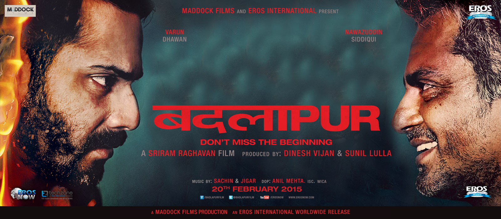 Badlapur Movie Poster