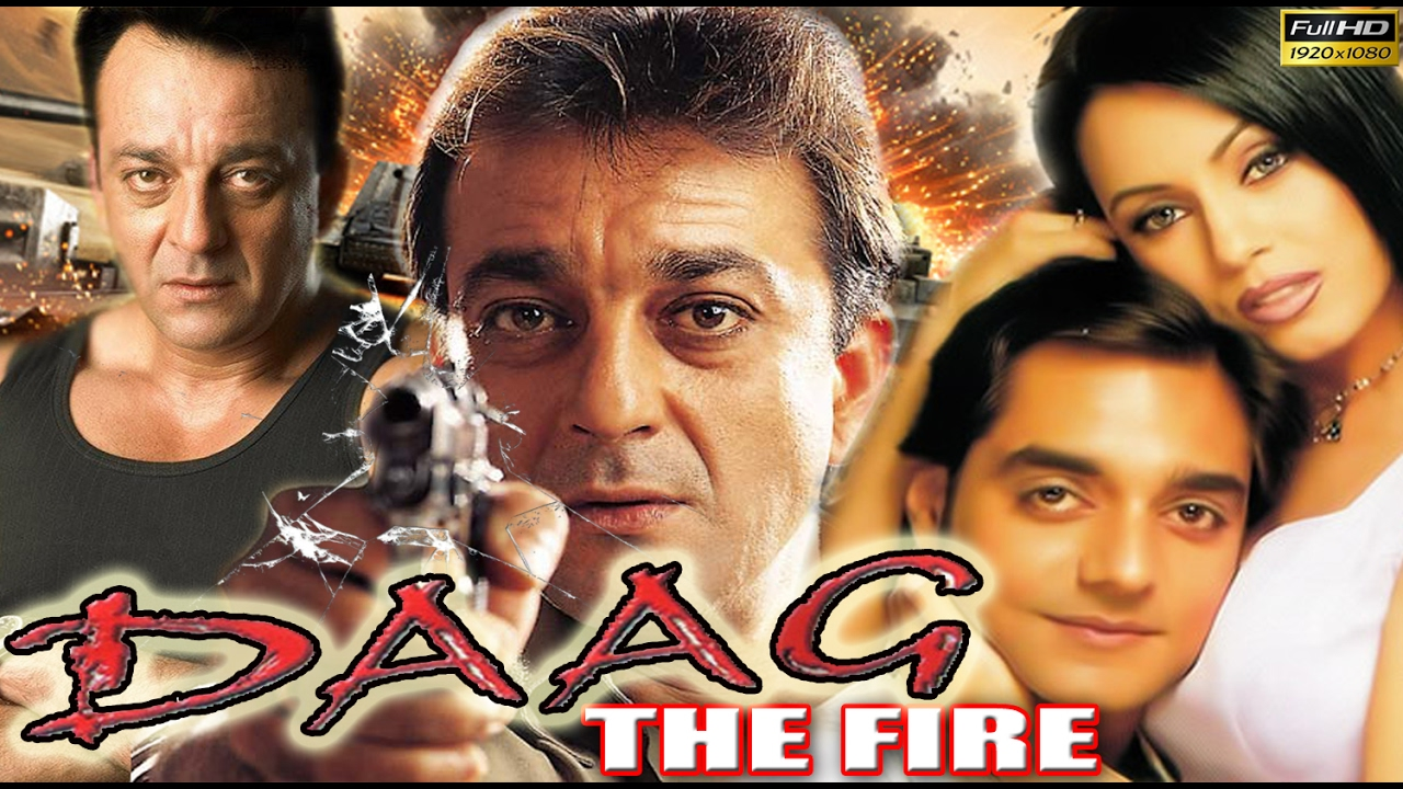 Daag The Fire Movie Poster