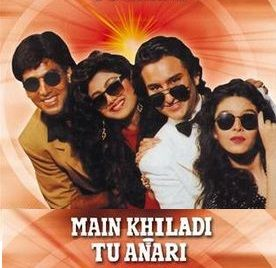Main Khiladi Tu Anari Movie Poster