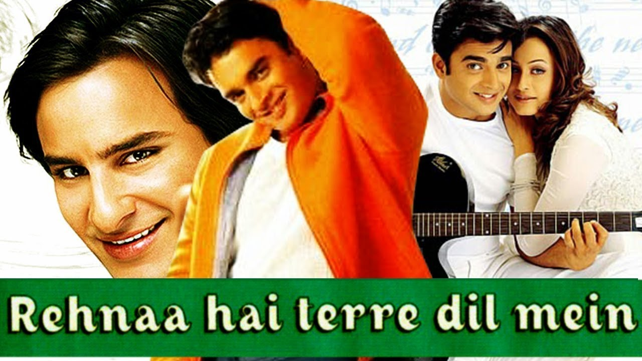 Rehnaa Hai Terre Dil Mein Movie Poster