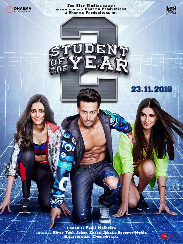 Student Of The Year 2 Movie Poster